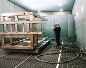Mass metal finishing or tumbling on stainless steel